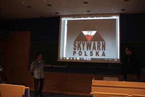 Od lewej - Artur Michalak, Artur Surowiecki - Skywarn Polska.